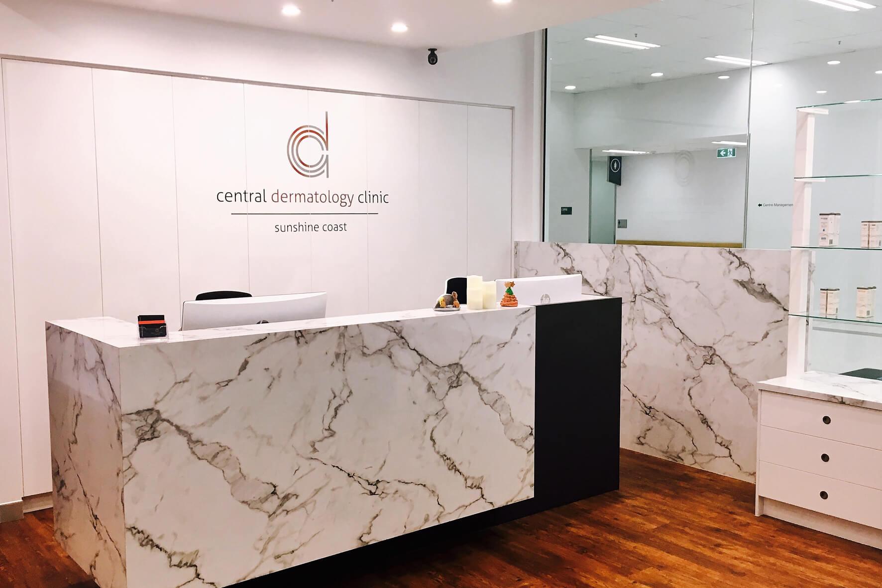 Dr christina sander dermatologist central dermatology clinic for Dermatology clinic interior design